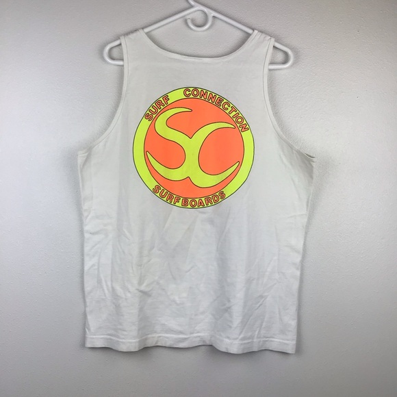 Fruit of the Loom Other - Vintage Surf Connections Surfs boards Tank Top